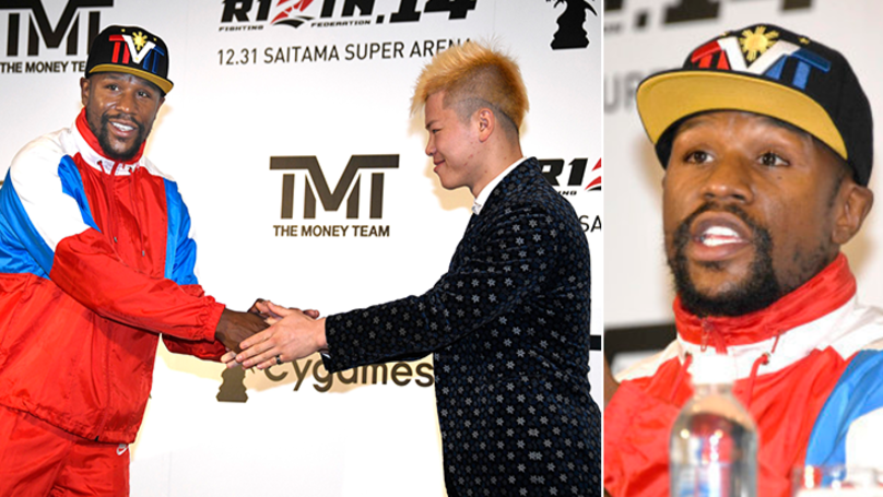 Details Of Rule-Set For Floyd Mayweather's Bout With Japanese Kickboxer Tenshin Nasukawa