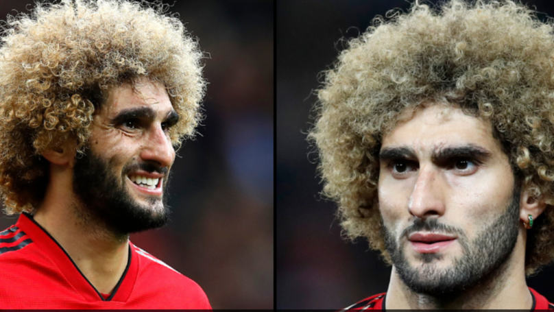 Manchester Utd Player Marouane Fellaini Has Cut His Hair