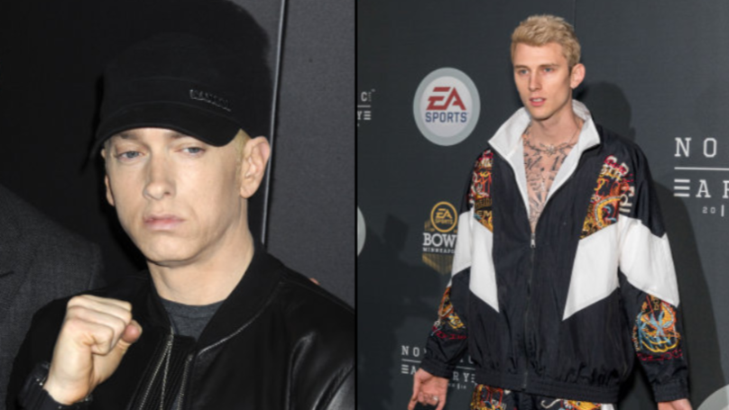 Eminem Releases Diss Track For Machine Gun Kelly Ladbible