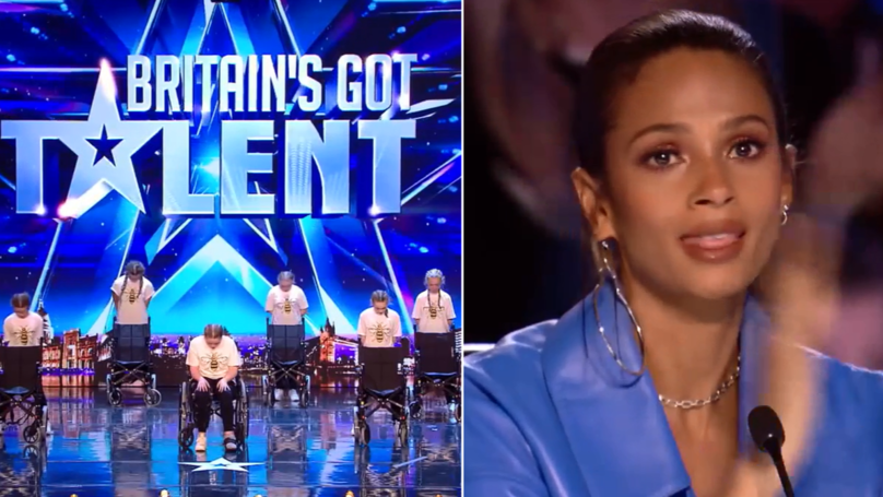 'BGT' Judges Moved To Tears Over Manchester Bombing Survivor's Performance