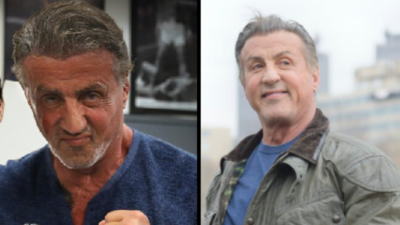 Sly Stallone Is Back In The Gym At The Age Of 72 - And Looking Good