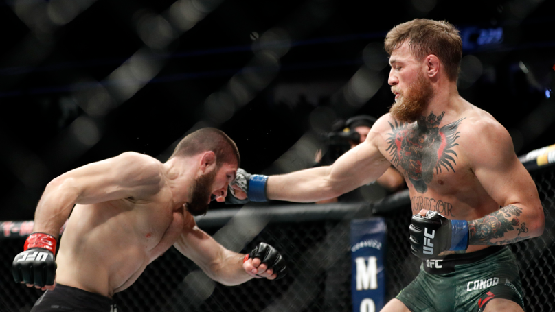 New Footage From UFC 229 Shows Conor McGregor Throwing Punch At Team Khabib