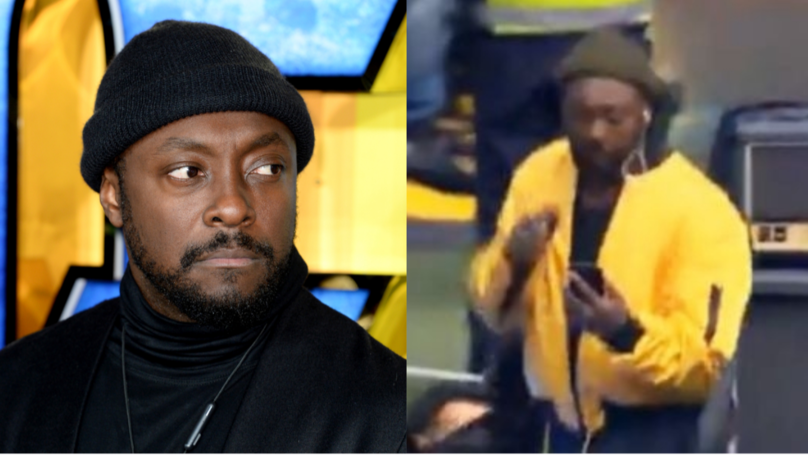 Will.I.Am Responds To Criticism After Checking His Phone Midway Through A Performance