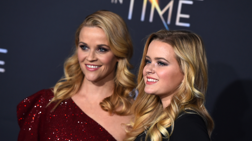 Reese Witherspoon Is Joined By Her Look-A-Like Daughter For 'A Wrinkle In Time' Premiere