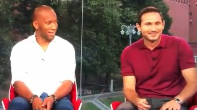 Frank Lampard Cracks Up Over Didier Drogba's Reference To Their Former Teammate