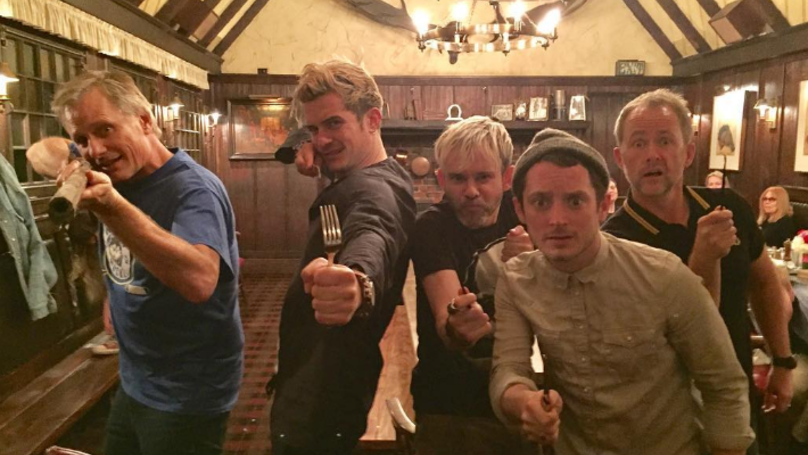 There Was A Mini 'Lord Of The Rings' Reunion Which Makes You Miss It