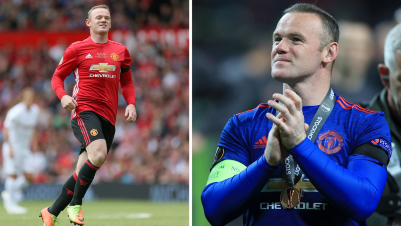 Wayne Rooney Scored His Debut United Hat-Trick 14 Years Ago Today
