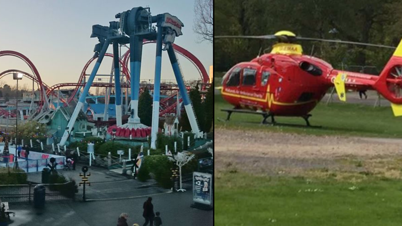 Eleven-Year-Old Girl Airlifted From Drayton Manor After Serious Incident