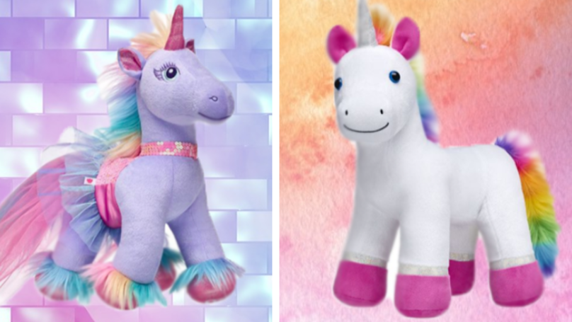 Build-A-Bear Has Officially Added A Unicorn To Their Stores