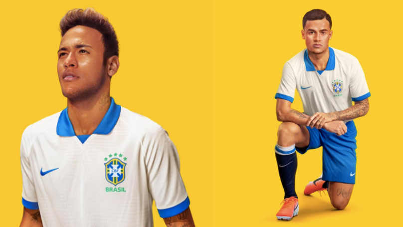 df4aa175d Nike Launch Beautiful Retro White Brazil Kit To Celebrate 100th Anniversary  Of Copa America