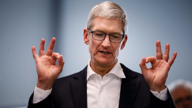 Apple CEO Tim Cook Just Got A Massive Bonus