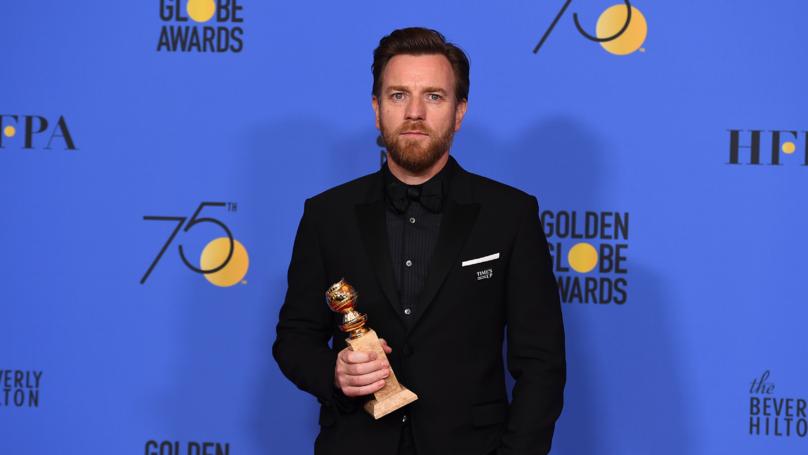 Ewan McGregor Thanks Ex-Wife And New Girlfriend In Acceptance Speech