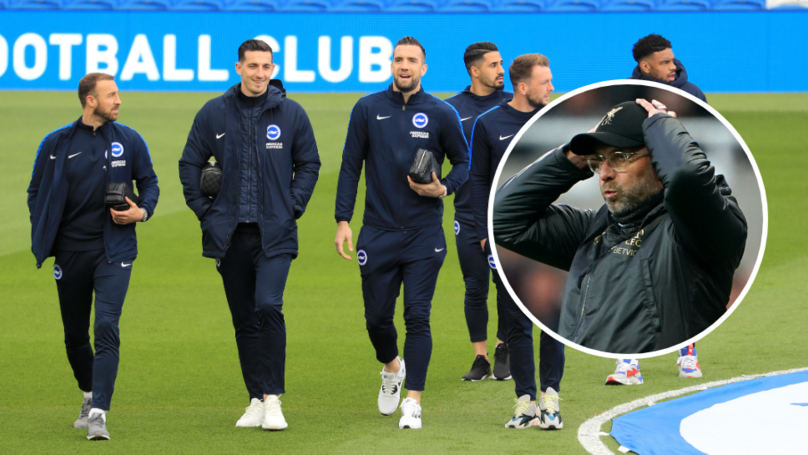 Reporter Claims Brighton Players Have Been Partying Ahead Of Manchester City Game