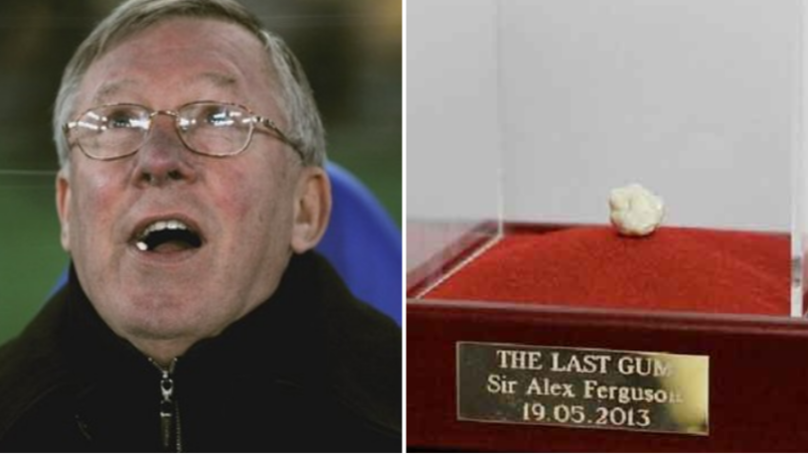 Sir Alex Ferguson's Final Chewing Gum As Manchester United Manager Sold For £390,000