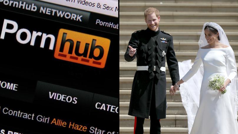 The Royal Wedding Caused A Huge Drop In Traffic On Pornhub
