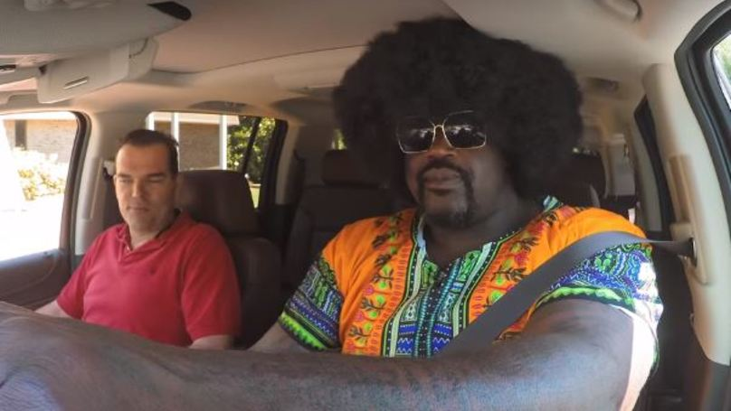 Shaquille O'Neal Goes Undercover As Taxi Driver