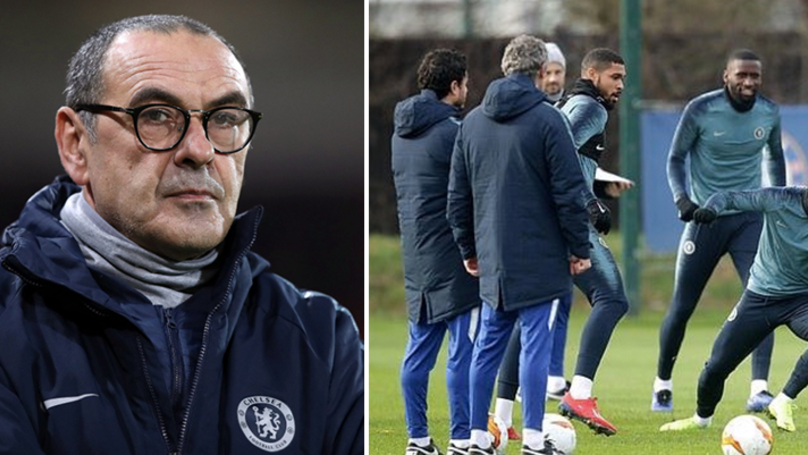 Chelsea Staff Shocked By Maurizio Sarri's Treatment Of Player