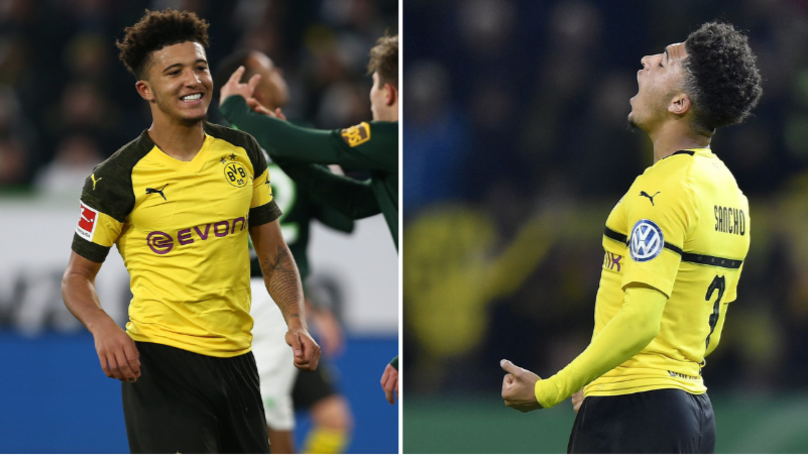 Jadon Sancho Says He's Playing With His Idol At Borussia Dortmund