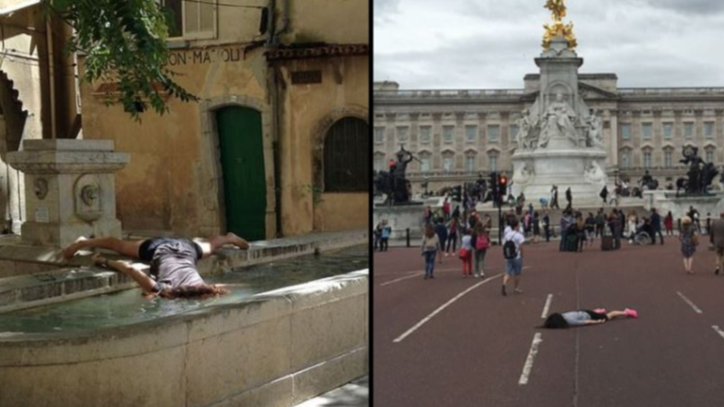 Instagrammer Travels The World Sharing Photos Of Herself 'Dying' At Famous Landmarks
