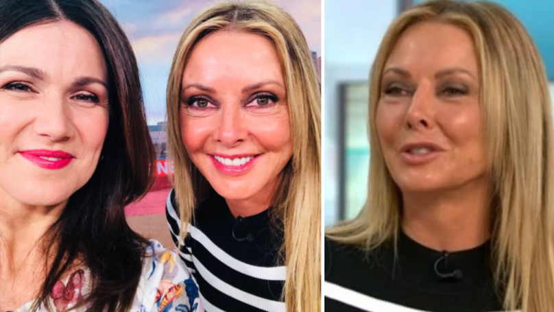 WATCH: GMB Viewers 'Shocked' As Camera Zooms In On Carol Vorderman's Chest