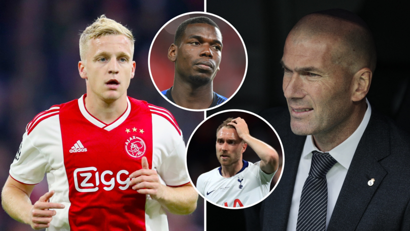 Real Madrid To Target €60m-Rated Donny Van De Beek Instead Of Paul Pogba And Christian Eriksen