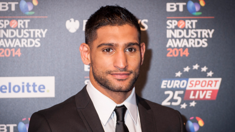 Amir Khan Caught Up In 'Road Rage' Incident Following Crash