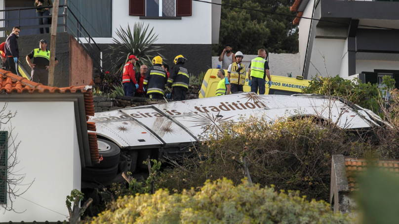 28 Dead After Tourist Bus In Madeira Overturns And Tumbles Off Road