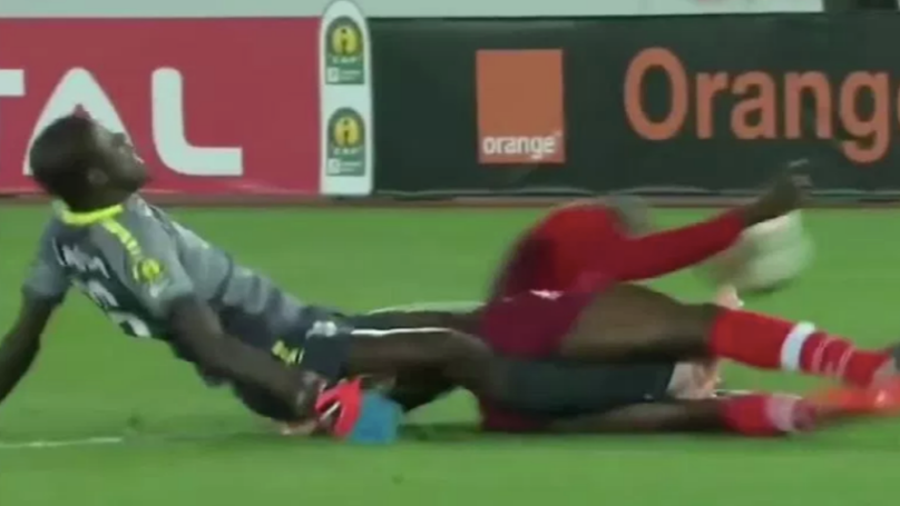 Senegal ​Goalkeeper Khadim Ndiaye Suffers Horrific Double Leg Break During Game