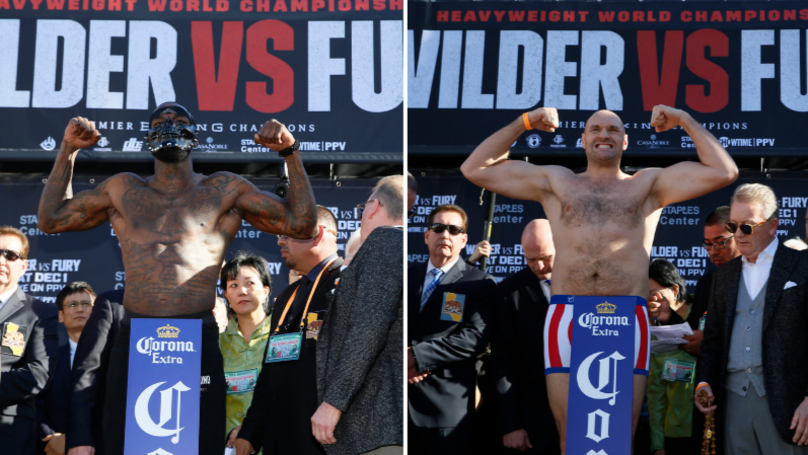 How Much Deontay Wilder And Tyson Fury Are Earning Has Been Revealed