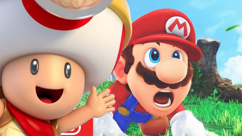 '​Super Mario Odyssey' Producer Finally Settles Debate About Toad's Head