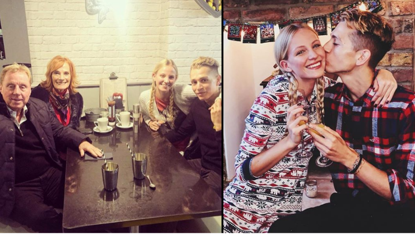 James McVey Proposed To Girlfriend Kirstie Brittain And Harry Redknapp Helped Pick Ring