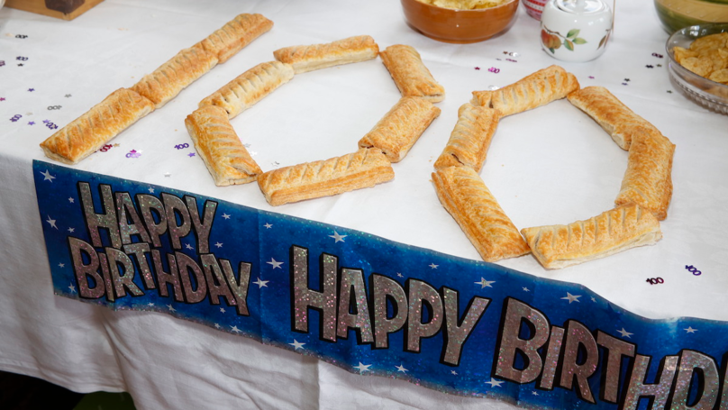 100-Year-Old Woman Celebrates Milestone With Greggs Sausage Roll Birthday Party