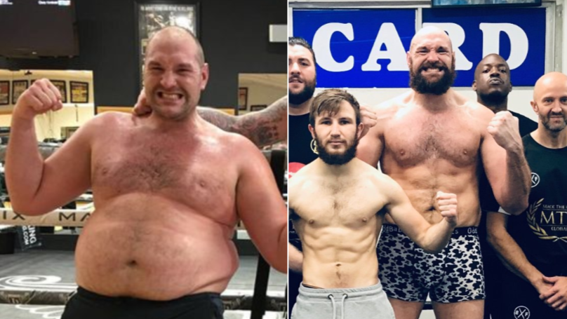 Tyson Fury's Remarkable Body Transformation Is Complete