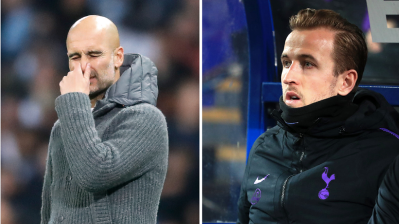 "18 Months Ago, Pep Guardiola Called Tottenham The ""Harry Kane Team"""