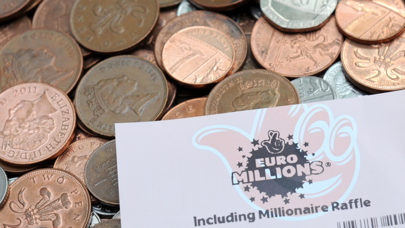 Whoever Won £76 Million On The EuroMillions Lottery Is Almost As Rich As Ed Sheeran