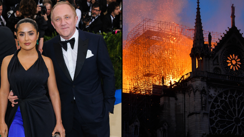 French Billionaire François-Henri Pinault Pledges €100m To Help Rebuild The Notre Dame