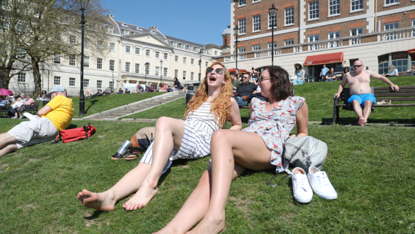 Today Is The Hottest April Day In The UK Since 1949