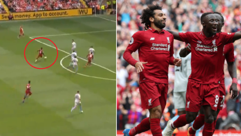Naby Keita Is Doing Absolute Bits On His Premier League Debut