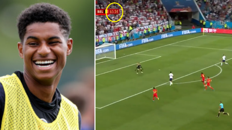 England Fans Celebrated What Marcus Rashford Did In The 66th Minute