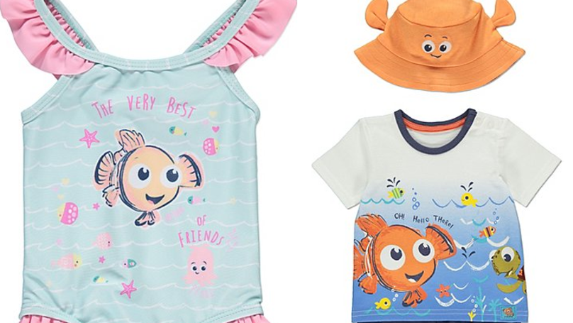 Asda Has A ​Finding Nemo Baby Holiday Range And It's Super Cute