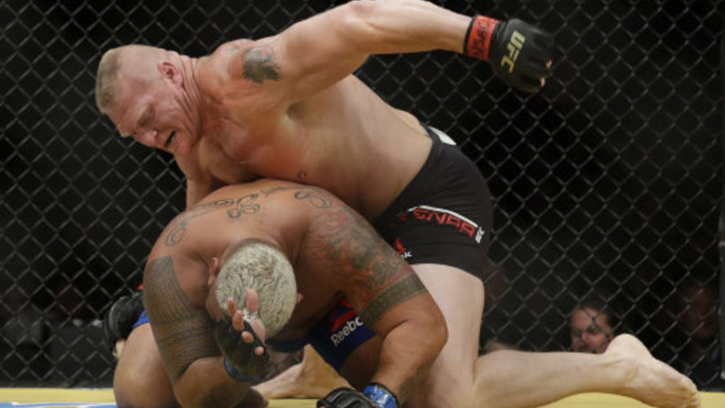 Mark Hunt Goes In On Brock Lesnar Following Potential Doping Violation