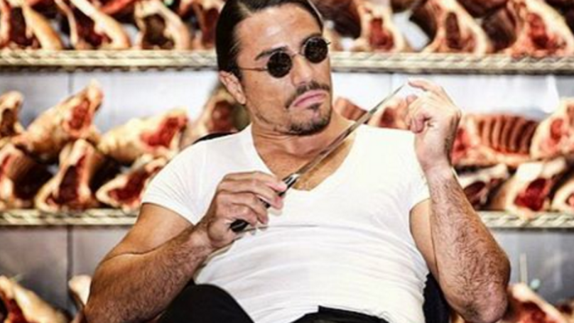 Salt Bae Casts His Vote In The Most Salt Bae Way Possible