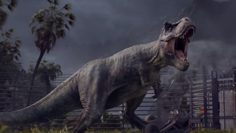 A New 'Jurassic World' Video Game Is Coming And It Looks Epic
