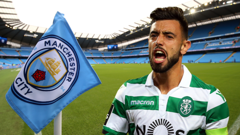 Manchester City 'In Pole Position To Sign' Sporting CP's Bruno Fernandes For £43 Million