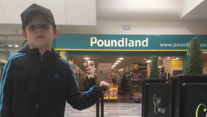 Dad Tricks Son Into Thinking He's Going to Disneyland, Actually Takes Him To Poundland