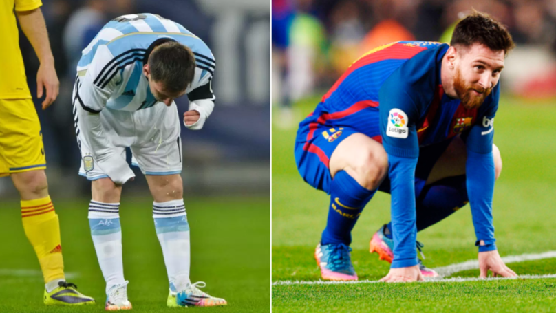 Lionel Messi Reveals The Real Reason Why He Used To Vomit On The Pitch