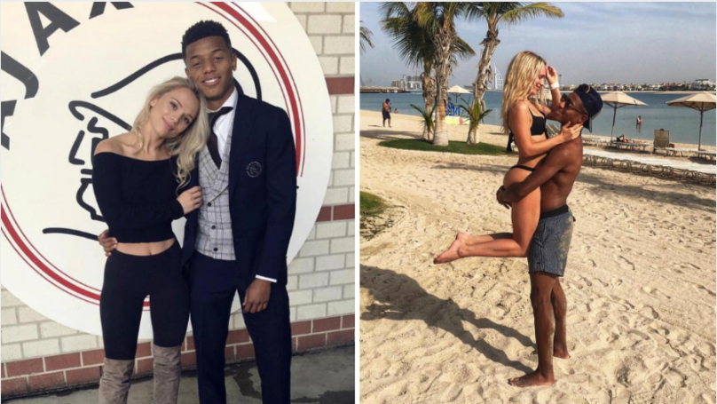 Ajax Player David Neres Introduced Himself To German Model Kira Winona In Incredible Fashion