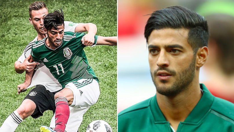 Carlos Vela Posts Heartfelt Message To His Late Grandfather After Mexico's World Cup Win