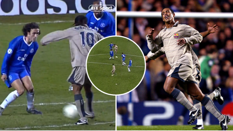 On This Day In 2005, Ronaldinho Scored THAT Iconic Goal Against Chelsea