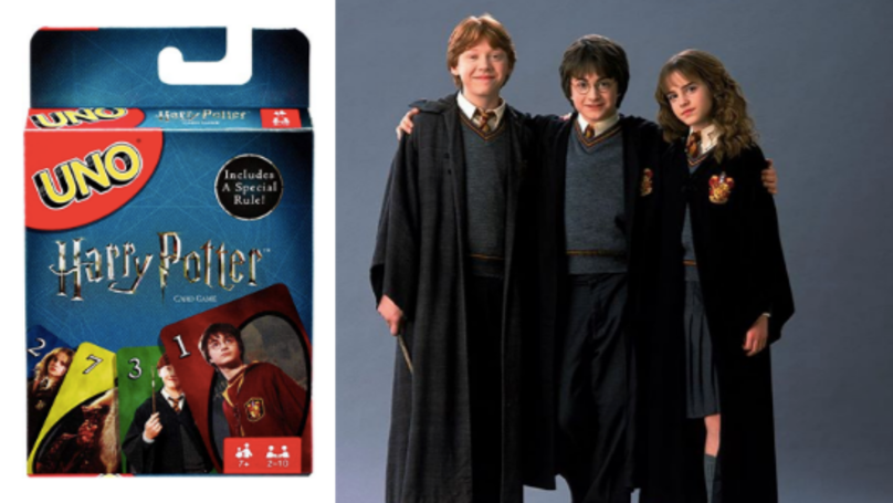 'Harry Potter' Uno Exists And It's The Most Magical Game Since Quidditch